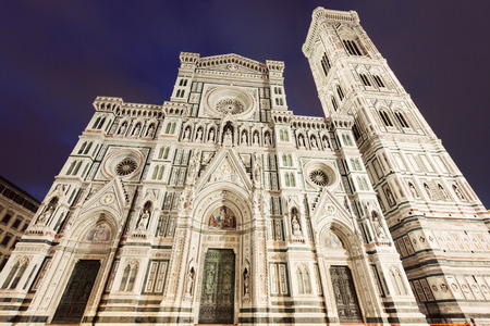 fiore: Santa Maria del Fiore (Duomo) in Florence. Florence, Tuscany, Italy