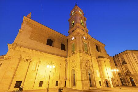 foggia: Cathedral of  Santa Maria in Foggia. Foggia, Apulia, Italy
