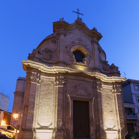 foggia: Chiesa dellAddolorata in the center of Foggia. Foggia, Apulia, Italy.