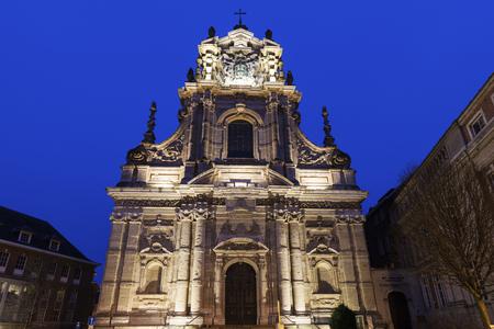 flemish region: Saint Michaels Church in Leuven. Leuven, Flemish Region, Belgium