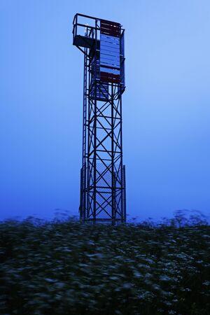 scotia: Point Aconi Lighthouse - Nova Scotia, Canada Stock Photo