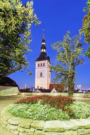 tallin: St. Nicholas Church in Tallin. Tallin, Estonia.