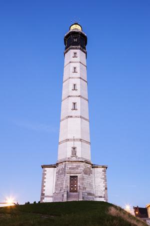 calais: Calais Lighthouse. Calais, Nord-Pas-de-Calais-Picardy, France.