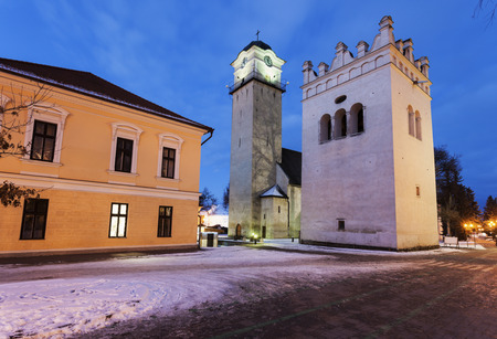 Church of St. Egidius in Poprad. Poprad, Slovakia