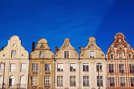 heros: Architecture of Place des Heros in Arras. Arras, Nord-Pas-de-Calais-Picardy, France.