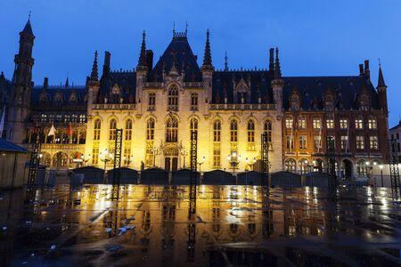 flemish region: Provincial Palace in Bruges. Bruges, Flemish Region, Belgium Editorial