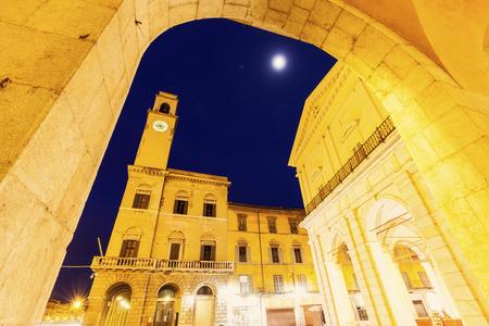 pisa: Pisa architecture with the clock tower. Pisa, Tuscany, Italy