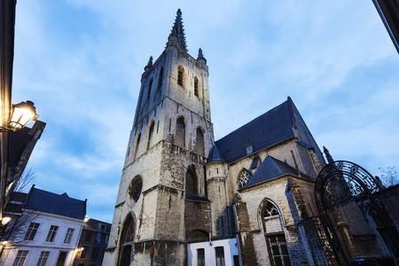 flemish: Sint Geertrui Church in Leuven. Leuven,  Flemish Region, Belgium
