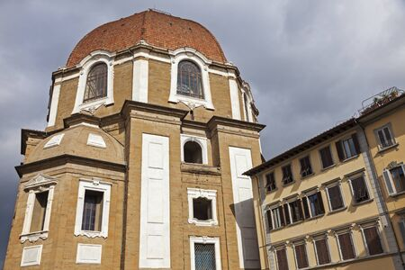 lawrence: The Basilica di San Lorenzo (Basilica of St Lawrence) in Florence. Florence, Tuscany, Italy