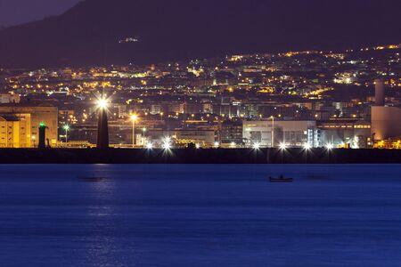 naples: Naples lighthosues. Naples, Campania, Italy