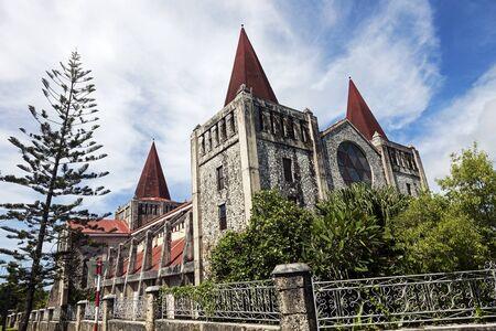 tonga: Cathedral in downtown of NukuAlofa, Tonga