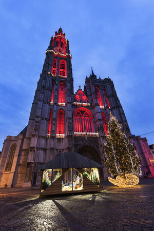 flemish region: Cathedral of Our Lady in Antwerp. Antwerp,  Flemish Region, Belgium