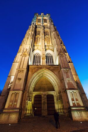 flemish region: Saint Rumbolds Cathedral in Mechelen. Mechelen, Flemish Region, Belgium