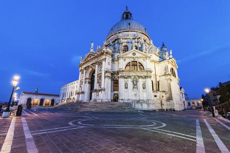 Santa Maria della Salute in Venice. Venice, Veneto, Italy