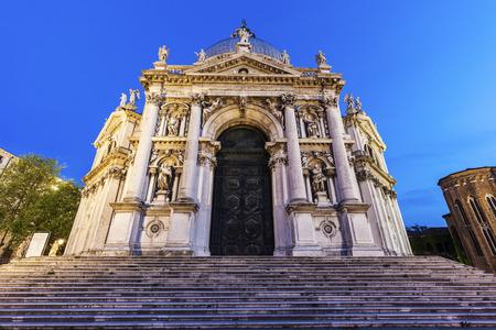 veneto: Santa Maria della Salute in Venice. Venice, Veneto, Italy