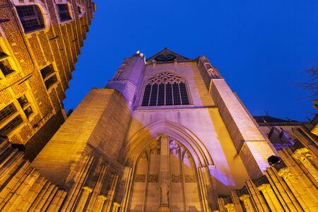 flemish region: St. Peters Church. Leuven, Flemish Region, Belgium. Stock Photo