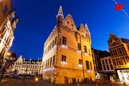 flemish region: Aldermens House in Mechelen. Mechelen, Flemish Region, Belgium Editorial