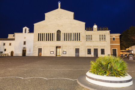 pio: St. Pio of Pietrelcina Chapel. San Giovanni Rotondo, Apulia, Italy