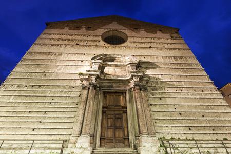 Piazza IV Novembre and Cathedral of San Lorenzo in Perugia. Perugia, Umbria, Italy