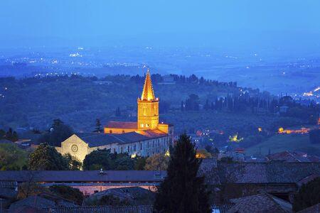 Church and Monastery of Santa Giuliana in Perugia. Perugia, Umbria, Italy
