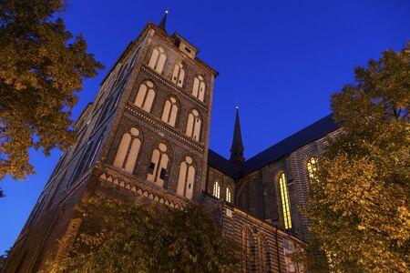 marys: St. Marys Church in Rostock. Rostock, Mecklenburg-Vorpommern, Germany.