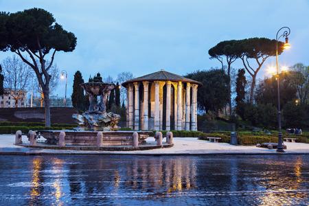 lazio: Bocca della Verita Fountain. Rome, Lazio, Italy.