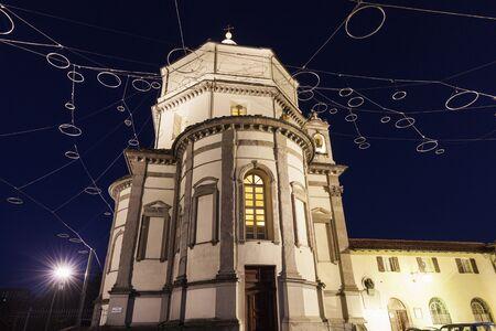 disctrict: Capuchin Monastery in Turin. Turin, Piedmont, Italy Stock Photo
