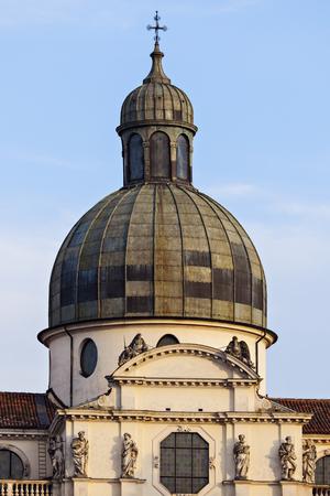 veneto: Basilica di Monte Berico in Vicenza. Vicenza, Veneto, Italy Stock Photo