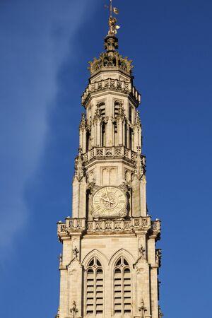 heros: Arras Town Hall on Place des Heros. Arras, Nord-Pas-de-Calais-Picardy, France.