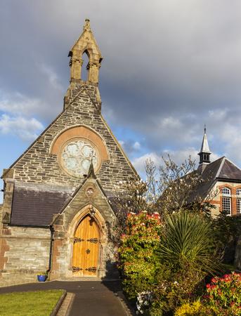 northern ireland: St. Augustine Church of Ireland. Derry, Northern Ireland, United Kingdom.