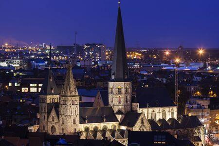 flemish region: St. James Church in Ghent. Ghent, Flemish Region, Belgium.
