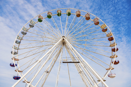 le: Wheel in Le Havre. Le Havre, Normandy, France