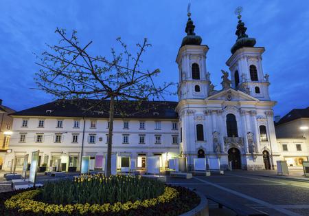 Katharinenkirche in Graz. Graz, Styria, Austria. Stock Photo