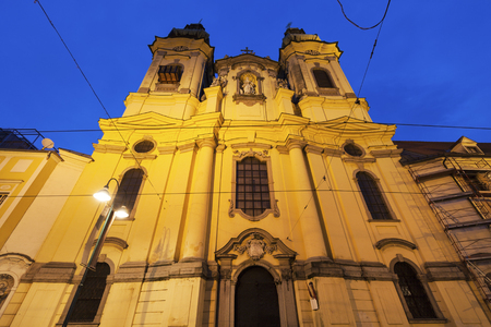 upper austria: St. Michael Church in Linz. Linz, Upper Austria, Austria. Stock Photo