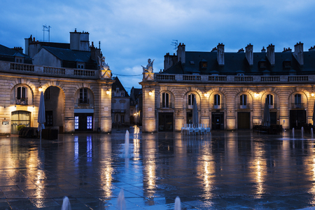 Liberation Square in Dijon. Dijon, Burgundy, France Stock Photo
