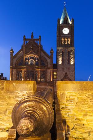 guildhall: Guildhall in Derry Derry, Northern Ireland, United Kingdom.