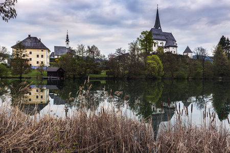 primus: Saints Primus and Felician Church in Maria Worth. Maria Worth, Carinthia, Austria.