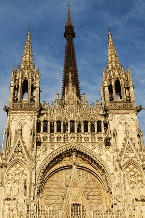 normandy: Rouen Cathedral Notre-Dame Rouen, Normandy, France
