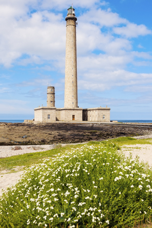 normandy: Gatteville Lighthouse. Gatteville, Normandy, France