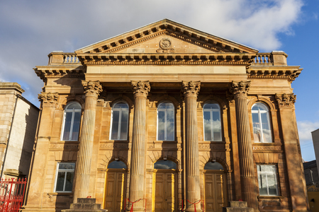 First Derry Presbyterian Church. Derry, Northern Ireland, United Kingdom.