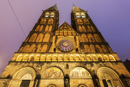 St. Peter's Cathedral in Bremen. Bremen, Germany. Imagens