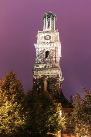 saxony: Aegidien church tower in Hanover. Hanover, Lower Saxony, Germany. Stock Photo