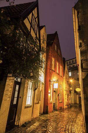 Der Schnoor - Old architecutre of Bremen. Bremen, Germany. Reklamní fotografie