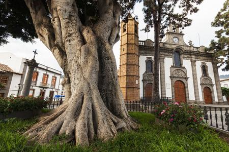 Basilica de Nuestra Senora del Pino in Teror. Gran Canaria, Canary Islands, Spain Stock Photo