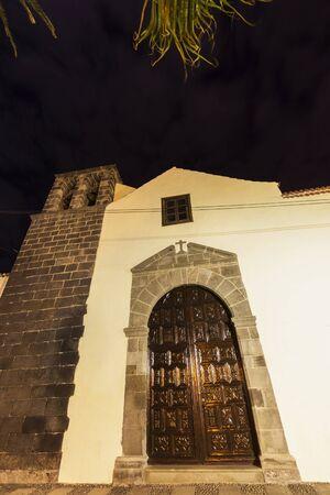 San Francisco Church in Puerto de la Cruz. Puerto de la Cruz, Tenerife, Canary Islands, Spain.