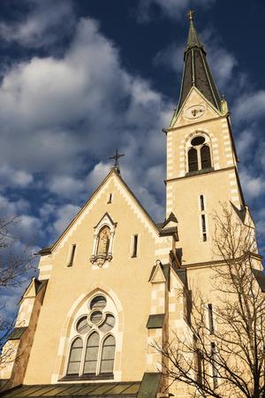 St. Nicholas Church in Villach. Villach, Carinthia, Austria.