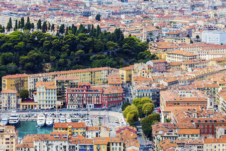boron: Nice panorama seen from Mt Boron. Nice, French Riviera, France.