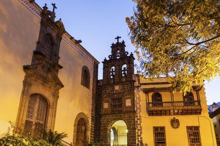 San Agustin Church in La Orotava. Orotava, Tenerife, Canary Islands, Spain.