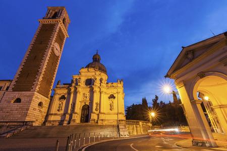 Basilica di Monte Berico in Vicenza. Vicenza, Veneto, Italy.
