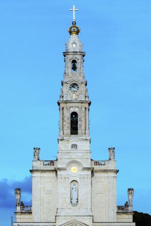 Sanctuary of Fatima. Fatima, Centro Region, Portugal.